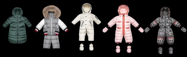 BABY MODELS PER FITTING MONCLER
